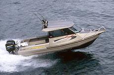 Во время тестирования лодка шла очень хорошо.
